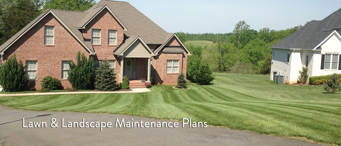 Lawn & Landscape Maintenance Plans